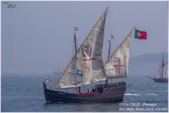 VERA CRUZ - Portugal, Tall Ships Race. Coruña 2016