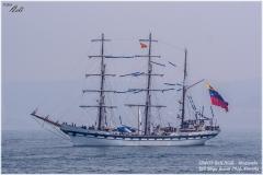 SIMON BOLIVAR - Venezuela, Tall Ships Race. Coruña 2016
